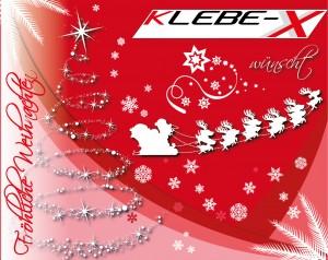 Weihnachtsaufkleber von Klebe-X